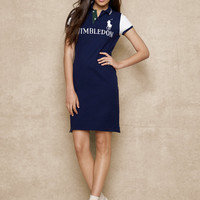 Color-Blocked Wimbledon Dress