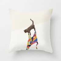 Shadow Cat Pillow Cover