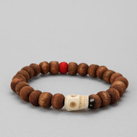 UO Skull Bead Bracelet