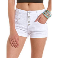 Almost Famous High Waisted Short: Charlotte Russe