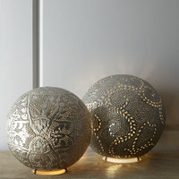 Marrakech Round Lamp