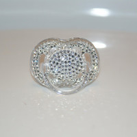 Swarovski Crystal Pacifier (Avent Philips) By Crystalolika