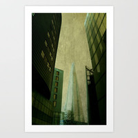 Shard Art Print by Ally Coxon