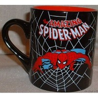 Amazon.com: SPIDER-MAN New Hero Marvel's 14 oz Ceramic Coffee MUG: Everything Else