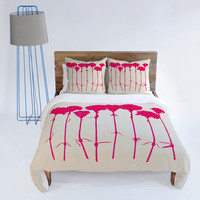 DENY Designs Home Accessories | Garima Dhawan Carnations Pink Duvet Cover