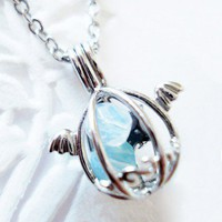 Handmade Gifts | Independent Design | Vintage Goods Angelic Dragon's Egg Necklace - Jewelry - Girls