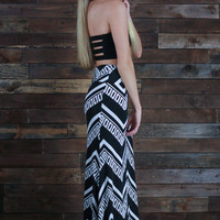 Life is a Highway Maxi Skirt