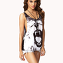 Roaring Lion Tank | FOREVER 21 - 2062511540