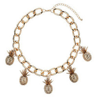 Pineapple Collar - Jewelry  - Bags & Accessories