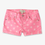 Rhinestoned Polka Dot Denim Shorts | FOREVER21 girls - 2048455624