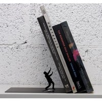 Falling Books Bookend by Art Ori