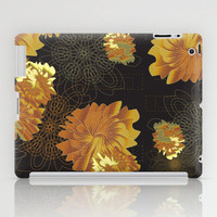 Florabundas Gold iPad Case by Nina May