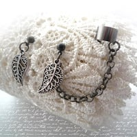 Beautiful Black Ear Cuff Set - A91