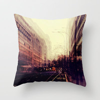 London Throw Pillow by ingz