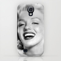 With Marylin iPhone & iPod Case by Irène Sneddon