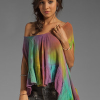 Jen&#x27;s Pirate Booty Cape Town Top in Flashback Bright Tie Dye from REVOLVEclothing.com