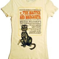 The Master and Margarita book cover t-shirt