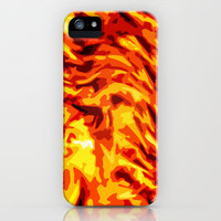 AFLAME iPhone & iPod Case by catspaws