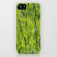 Grasses  iPhone &amp; iPod Case by JUSTART
