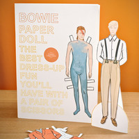 David Bowie Paper Doll at Firebox.com