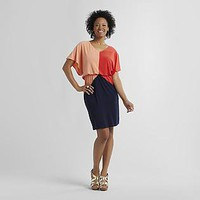 JBS- -Women's Party Dress - Colorblock-Clothing-Women's-Dresses