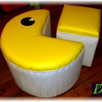 PACMAN POUF by DeutscherDesign on Etsy