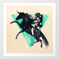 Ride the universe Art Print by Robert Farkas