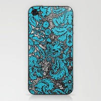 Vintage Wallpaper No.2 iPhone & iPod Skin by Romi Vega