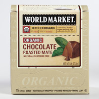 World Market® Organic Chocolate Maté Tea, 15-Count