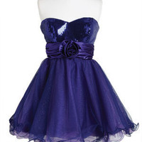dELiAs > Purple One Rose Dress > clothes > dresses > view all dresses
