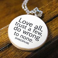 Shakespeare&#x27;s Words of Wisdom Bookish Charm
