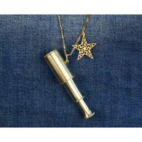 Celestial Telescope Necklace