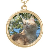 Sahara Cat Necklace from Zazzle.com