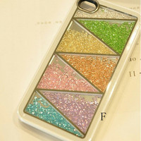 Rainbow Color Swarovski Elements iPhone case