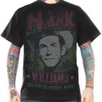 Hank Williams, T-Shirt, King Of Country Music