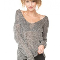 Brandy ♥ Melville |  Carmen Sweater - Just In