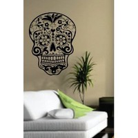 Amazon.com: Sugarskull Wall Vinyl Decal Sticker Art Graphic Sticker: Everything Else