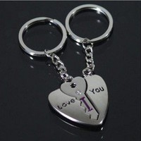 lulula  write letter key chain