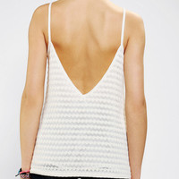 Pins And Needles V-Back Sweater Knit Tank Top