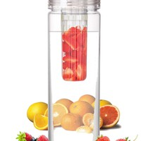 Infuser Water Bottle 27 Ounce - Made of durable Eastman TritanTM