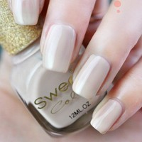 Sweet Nude Beige Nail Polish 12ml
