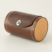 Anthropologie - Leather & Cedar Bicycle Trunk