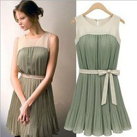 beautycall — Hundred pleats dress