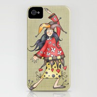 Lady Jokers iPhone Case by Carina Povarchik | Society6