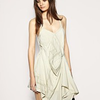ASOS Lace Insert Hitch Dress at ASOS