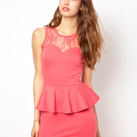 Club L Peplum Dress