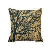 Ljubjana Weeping Throw Pillows by Janet Antepara