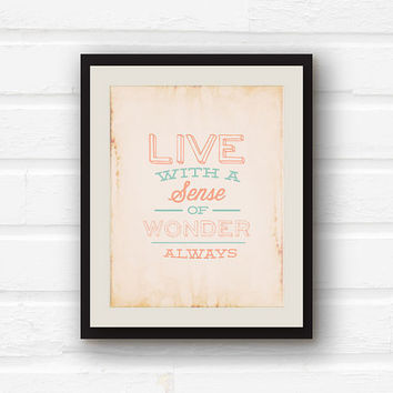Inspirational Quote Home Decor Nursery From