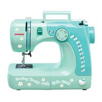 Hello Kitty Sewing Machine - Green (11706)