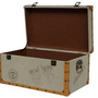 Classic Canvas Dorm Room Trunk - Imprints Footlockers Supplies Items Move In Day Hold Stuff Storage Organization